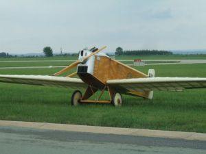 Avia BH-1 replica at Čáslav in 2011.