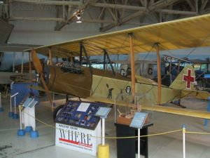 The one of a kind Curtiss Stinson Special on display