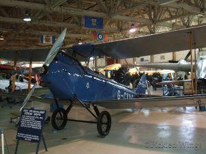 Cirrus Moth preserved at the Alberta Aviation Museum, Edmonton, Canada in 2012