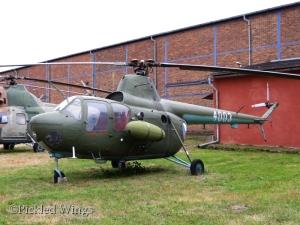 Mi-1M preserved at Kbely Air Museum in Prague, 2014.