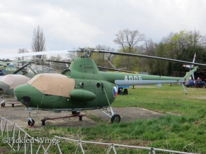 An Mi-1 seen preserved at Vyškov, Czech Republic in 2015.