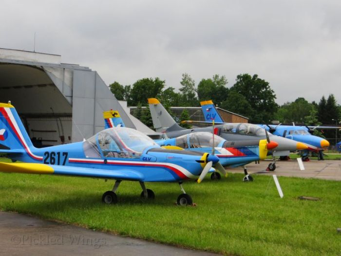 Czech military trainers stationed at Pardubice
