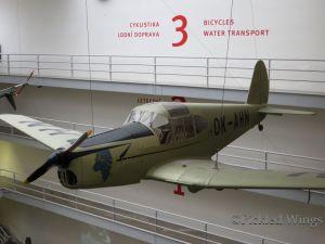Mráz M-1 Sokol: Czechoslovakia's first post WWII aircraft.