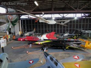 A pair of Drakens on display at Zeltweg in 2013.
