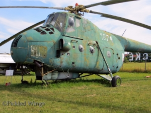 A Mil Mi-4 seen at the Kunovice air museum in 2013.