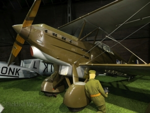 A domestic product of the interwar period: The Avia B-534 fighter.