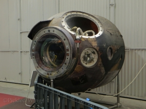 Soyuz 28 re-entry capsule.