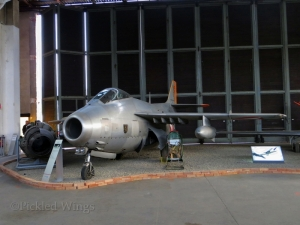 J-29F preserved at the Zeltweg Air Museum. Zeltweg, Austria, 2013