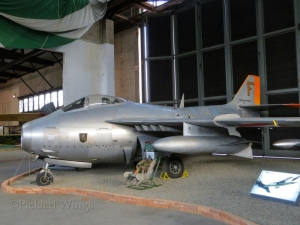 J-29F at the Zeltweg Air Museum in 2013.
