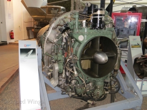DeHavilland Ghost engine at Zeltweg Air Museum in 2013.