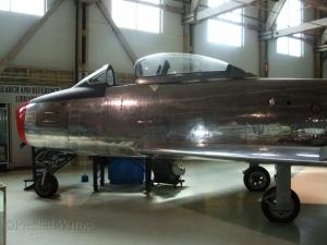 Sabre Mk.1 at the Alberta Aviation Museum in 2012.