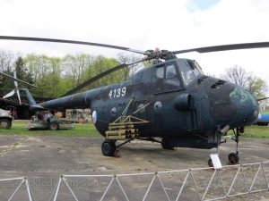 Mi-4 seen preserved at Vyškov, Czech Republic in 2015