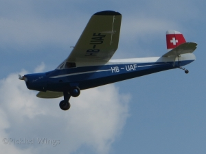 A Swiss registered E.114M displaying at Prague, Czech Republic in 2014.