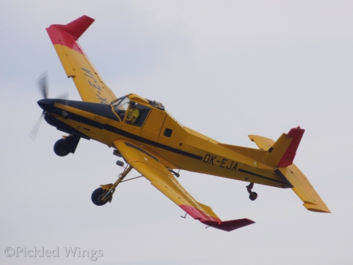 This Z-37T AgroTurbo put in one of the more spirited performances on the day.