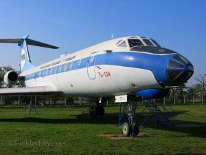 Aeropark's Tupolev Tu-134.